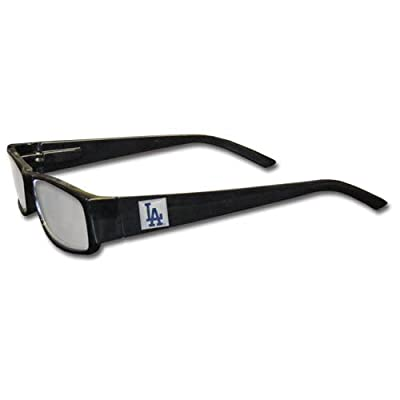 MLB Black Reading Glasses, +1.25, Los Angeles Dodgers