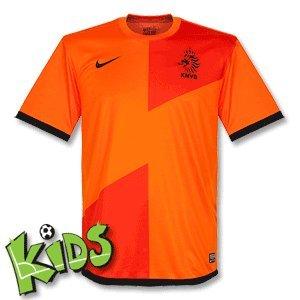 Holland Boys Home Football Shirt 2012/13