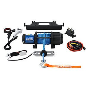 Ranger Integrated Hd 4500 Lb Pound Winch Xp 800 6X6 500 Efi Crew 2009-2014