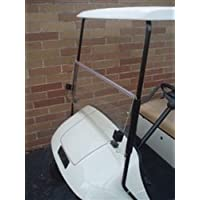 EZGO Medalist / TXT Golf Cart Clear Windshield for 1995 and Up