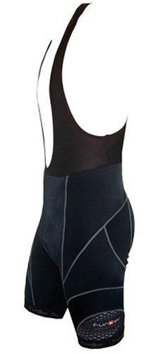 Buy Low Price Funkier Bike Men's 17 Panel Bib Shorts (S922-C7-GRY-P)