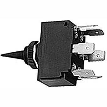 leviton single pole double throw switch wiring diagram amazon.com: hubbell wiring systems m123msp toggle switch, single pole, double throw, momentary ...