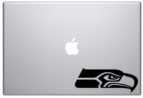 Seattle Seahawks Football Sports NFL Macbook Decal Laptop Sticker Vinyl at Amazon.com