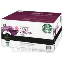 STARBUCKS CAFFE VERONA COFFEE K CUPS 96 COUNT
