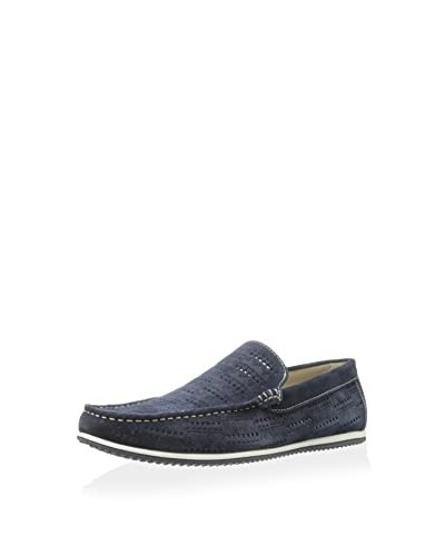 Kenneth Cole New York Men's White Line Slip-On Loafer