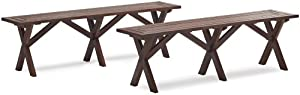 Strathwood Basics Picnic Table Bench Set Of 2 by Li & Fung, Pisico (LIFFB), FOB Ho Chi Minh, Viet Nam (VNSGN)