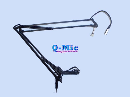 Q-Mic Qm-50 Pro Mic Arm With 16' Xlr Cable
