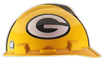 V-Gard® Type I Hard Cap With 1-TouchTM Suspension, Green Bay Packers Logo And... by MSA