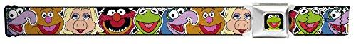 Disney The Muppets Faces Seatbelt Belt