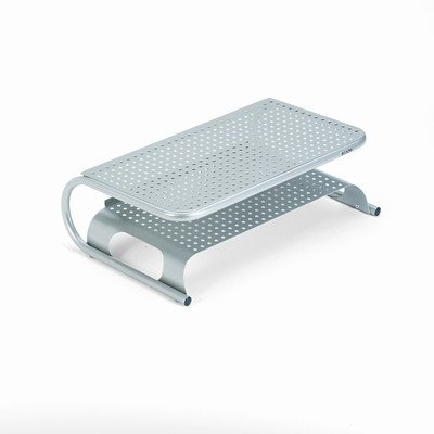 Metal Desktop Printer/Monitor Stand, 18 1/2 Inch x 12 Inch x