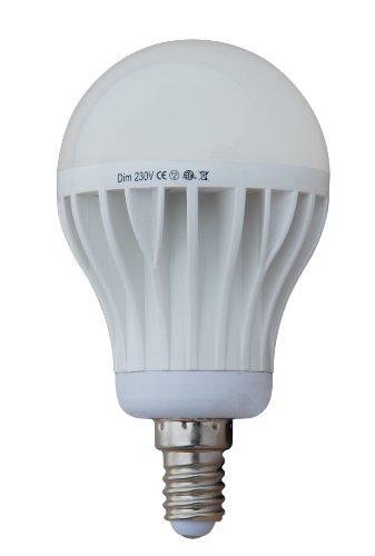 Generic Dimmable 10W Thermal Plastic A60 Led Bulb, 220V 230V, E14 Lamp Base, 6000K White, 850 Lumen