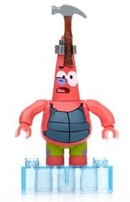 Mega Bloks Spongebob Squarepants The Spongebob Movie Sponge Out Of Water Series 2 Minifigures Hammerhead Patrick Common Minifigure