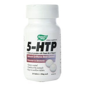 Nature's Way 5-HTP, 50 mg,  30 Tablets