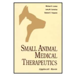 Small Animal Medical Therapeutics cover