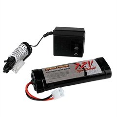 Nitro Power Temp Out See #Bt-Hr72K Power 7.2V 2000Mah R/C Battery & Charger Kit
