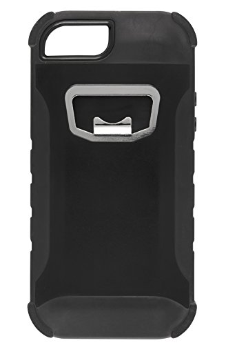 HeadCase Rugged Bottle Opener iPhone 5/5S/5C Case - Frustration-Free Packaging - Black (5s Bottle Opener compare prices)