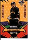2006 Topps Update All Star Stitches #AS-RH Roy Halladay - Toronto Blue Jays (Piece of Authentic All Star Jersey ) (Baseball Cards) at Amazon.com