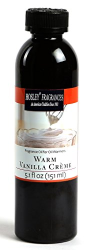 Hosley Highly Fragranced Warm Vanilla CrÚme Oil Bottle