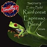 Rainforest K-Cup Espresso | Timothys | 24 K Cups