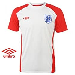 England Crest Training Shirt by Umbro
