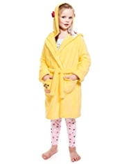 Hooded Little Miss Sunshine Dressing Gown