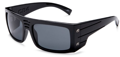 Electric CB4 Sunglasses,Gloss Black Frame/Grey Lens,one size