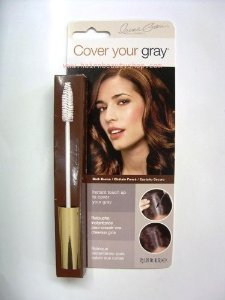 Cover Your Gray Hair Mascara for women DARK BROWN