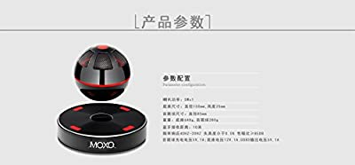 Magnetic Levitating Bluetooth Speaker - Bluetooth 4.1, 10 Meter Range, 5w Speaker, Built-in Rechargeable Battery, NFC Support