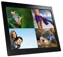x15a resolution frame memoryphotovideomusicsplit digital advertising clock picture optionplugplay internal