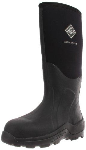 MuckBoots Arctic Sport Steel Toe Work Boot,Black,7 M US