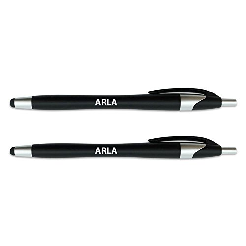 graphics-and-more-arla-stylus-with-retractable-black-ink-ball-point-pen-2-in-1-combo-works-on-any-to