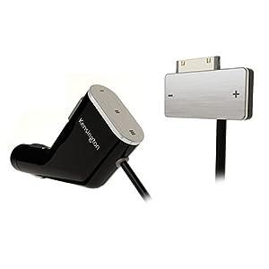 Kensington RDS FM Transmitter/Car Charger for iPod - digital player RDS FM transmitter / charger