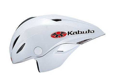 OGK KABUTO AERO-K1 シールド無し (サイクルヘルメット) オージーケー カブト エアロ・K1 エアロK1 L/XL・パールホワイト