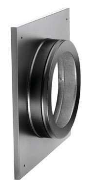 Best Prices! Simpson Duravent Round Support And Thimble Cover Direct Vent 6-5/8  Black