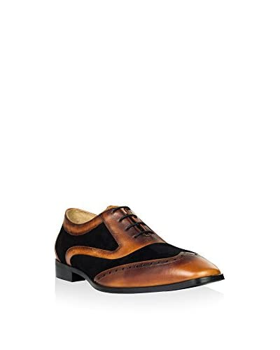 Hemsted & Sons Zapatos Oxford M00270 Marrón / Negro