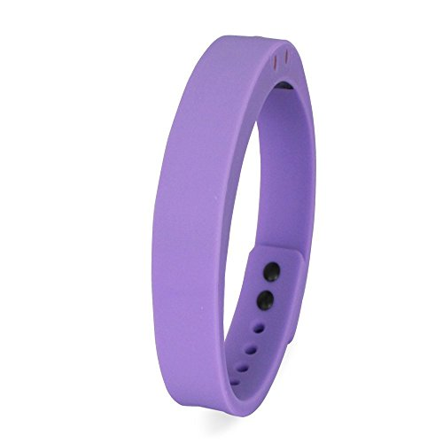 0IBEO Imarku Smart Band Bracelet Water Resistant Bluetooth V4.0 Fitness Tracker Android IOS Compatible (Purple)