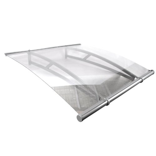3' Ft Overhead Clear Awning Door Window Polycarbonate Canopy