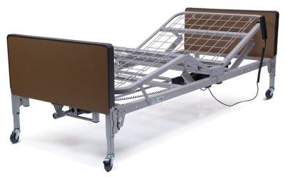 Patriot Full-Electric Bed Only - 220 V - International Only, Plastic Ends, 1Ea