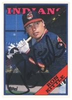 Ron Kittle Cleveland Indians 1988 Topps Autographed Hand Signed Trading Card. by Hall+of+Fame+Memorabilia