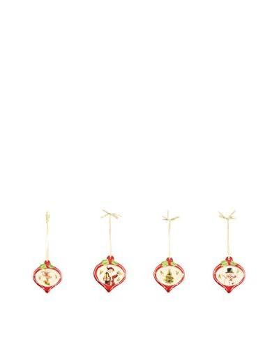 ZZZ-VILLA D'ESTE Weihnachtsdekoration 12er Set Sweetxmas mehrfarbig
