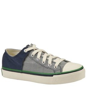 PF FLYERS Men's Bob Cousy Lo (Navy/Glen Check 7.0 D)
