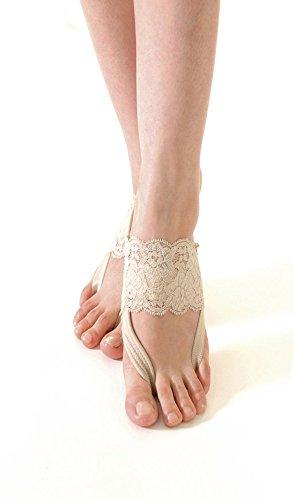 Ashipita Fashion beige taglia S - fasce alla moda per piedi freddi, disturbi della circolazione, sperone calcaneare, alluce valgo, piede diabetico