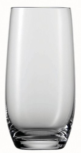 Schott Zwiesel Tritan Crystal Glass Banquet Barware Collection Long Drink/Iced Beverage, 18.2-Ounce, Set Of 6