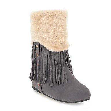 Keilabsatz Stiefel Schnee Stiefeletten Frauen (mehr Farben)