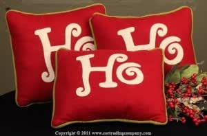 Ho Ho Ho Pillows Set of 3