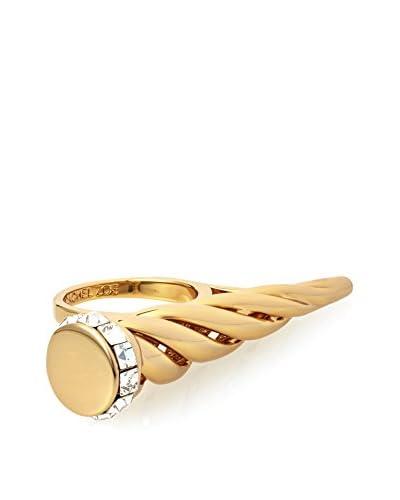 Rachel Zoe Gold Swirl Horn Ring