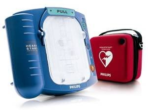 Philips Heartstart HS 1 First Aid defibrillator With Soft Carry Case