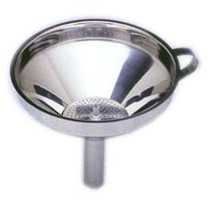 Norpro Norpro 5 1/2-Inch Stainless Steel Funnel with Detachable Strainer
