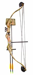 Arrow Precision Caribou Youth Archery Bow Set (25-Pounds) by Arrow Precision
