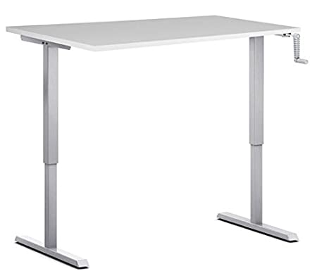 Sit Soporte de mesa para S210, encimera de disponible en 7 colores, color blanco 120 x 80